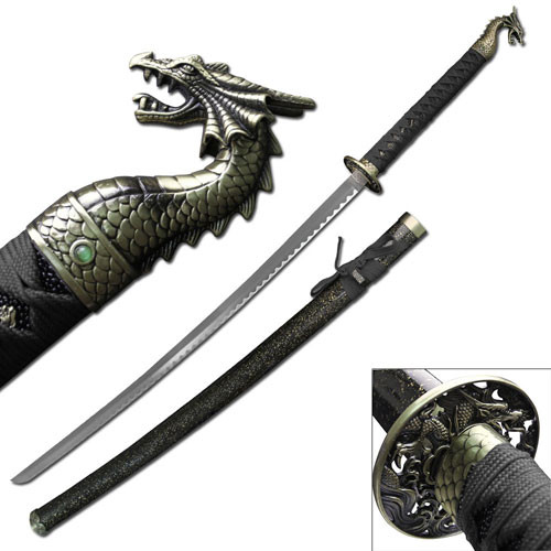 dragon slayer katana Sword Black