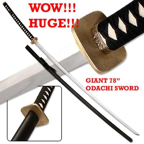 """78"""" Odachi Sword"""
