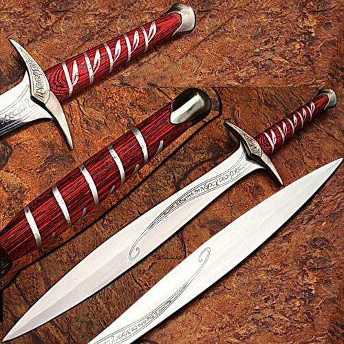 Fantasy Ring Lord Elvish Movie Dagger
