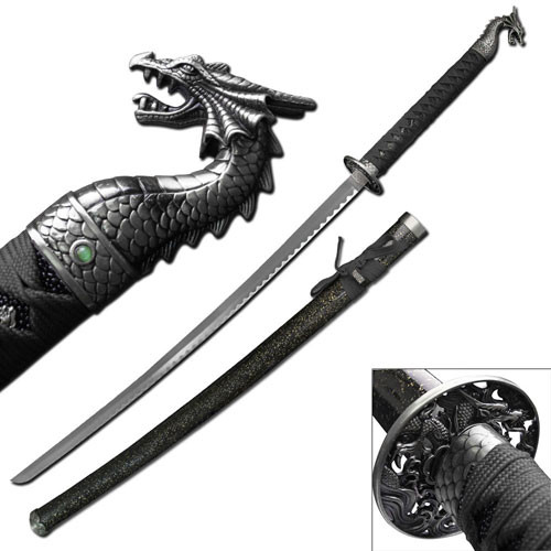 dragon slayer katana Sword