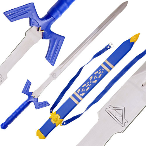 Zelda Link's Master Sword Video Game Replica