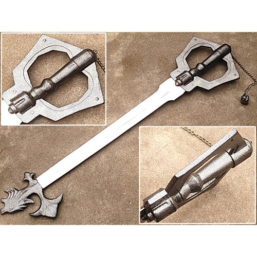 Sleeping Lion All Metal Kingdom Keyblade Steampunk Steel Bladed Hearts