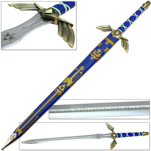 Legend of Zelda FULL TANG Master Sword