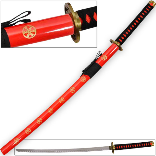 Hachiman Katana of War Japanese Frostbite Sword