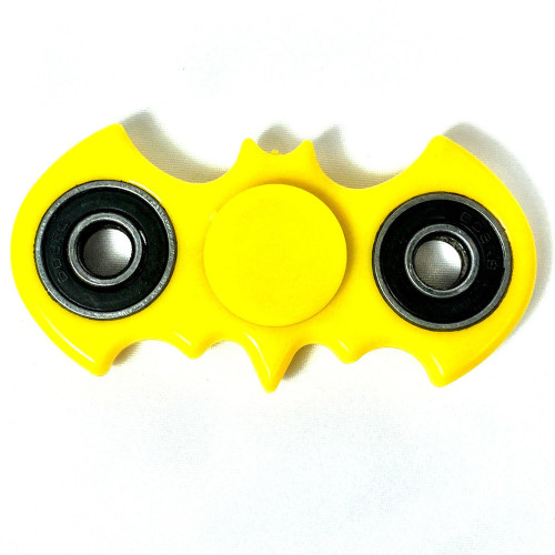 USA Yellow Batman Style Fidget Bat Fidget Hand Spinner