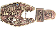 The Cattleman's Trophy Buckle
