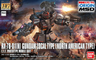 Local Type Gundam {North America Custom} [THE ORIGIN] (HG) **PRE-ORDER**