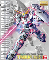 Unicorn Gundam {Red & Green Frame Ver.} [Titanium Finish] (MG) **PRE-ORDER**