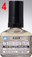 Sundy Wash (WC04) [Mr. Weathering Color Paint]