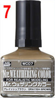Grayish Brown (WC07) [Mr. Weathering Color Paint]