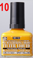 Filter Liquid Yellow (WC10) [Mr. Weathering Color Paint] **PRE-ORDER**