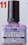 Filter Liquid Violet (WC11) [Mr. Weathering Color Paint] **PRE-ORDER**