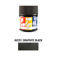 Mr. Color [40th anniversary]  Graphite Black (AVC01) **PRE-ORDER**