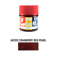 Mr. Color [40th anniversary] Cranberry Red Pearl (AVC03)