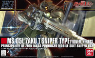 #137 Zaku I Sniper [Yonem Kirks Custom] (HGUC)