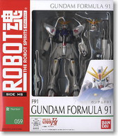 #059 F91 Gundam (Robot Spirits)