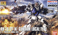 #010 Local Type Gundam [THE ORIGIN] (HG)
