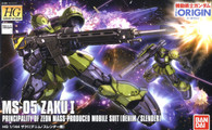 #009 Zaku I {Denim/Slender} [THE ORIGIN] (HG)