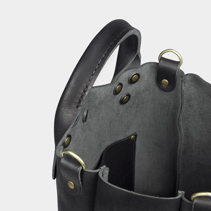 Leather Garrison Bag