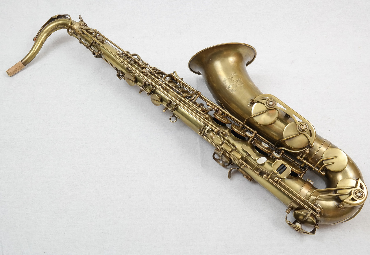 SIGNATURE CUSTOM RAW XS TENOR SAXOPHONE 3