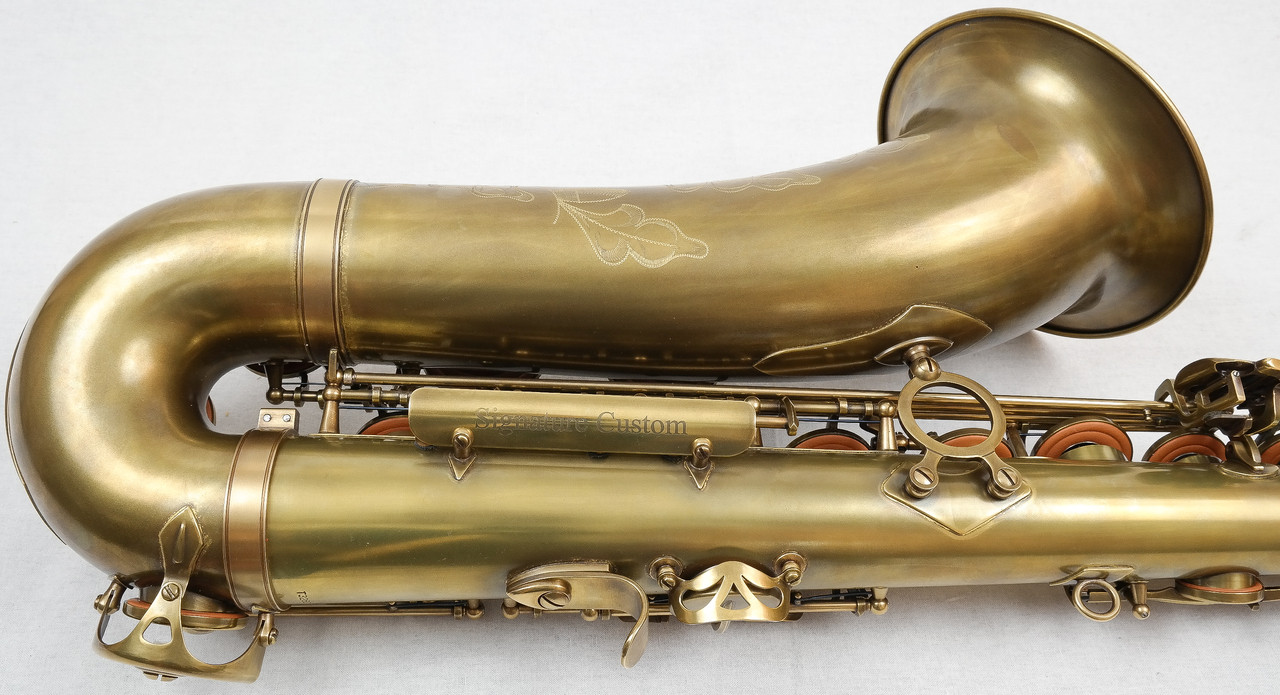 SIGNATURE CUSTOM RAW XS TENOR SAXOPHONE 5