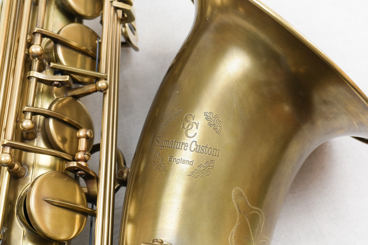 SIGNATURE CUSTOM RAW XS TENOR SAXOPHONE 6