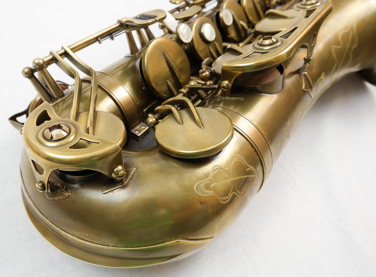 SIGNATURE CUSTOM RAW XS TENOR SAXOPHONE 8