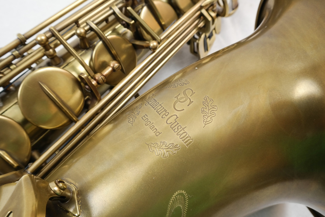 SIGNATURE CUSTOM RAW XS TENOR SAXOPHONE 9
