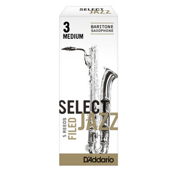 D'ADDARIO SELECT JAZZ FILED BARITONE SAXOPHONE REEDS