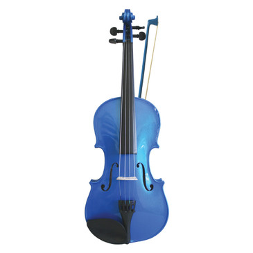 Rainbow Violin Blue