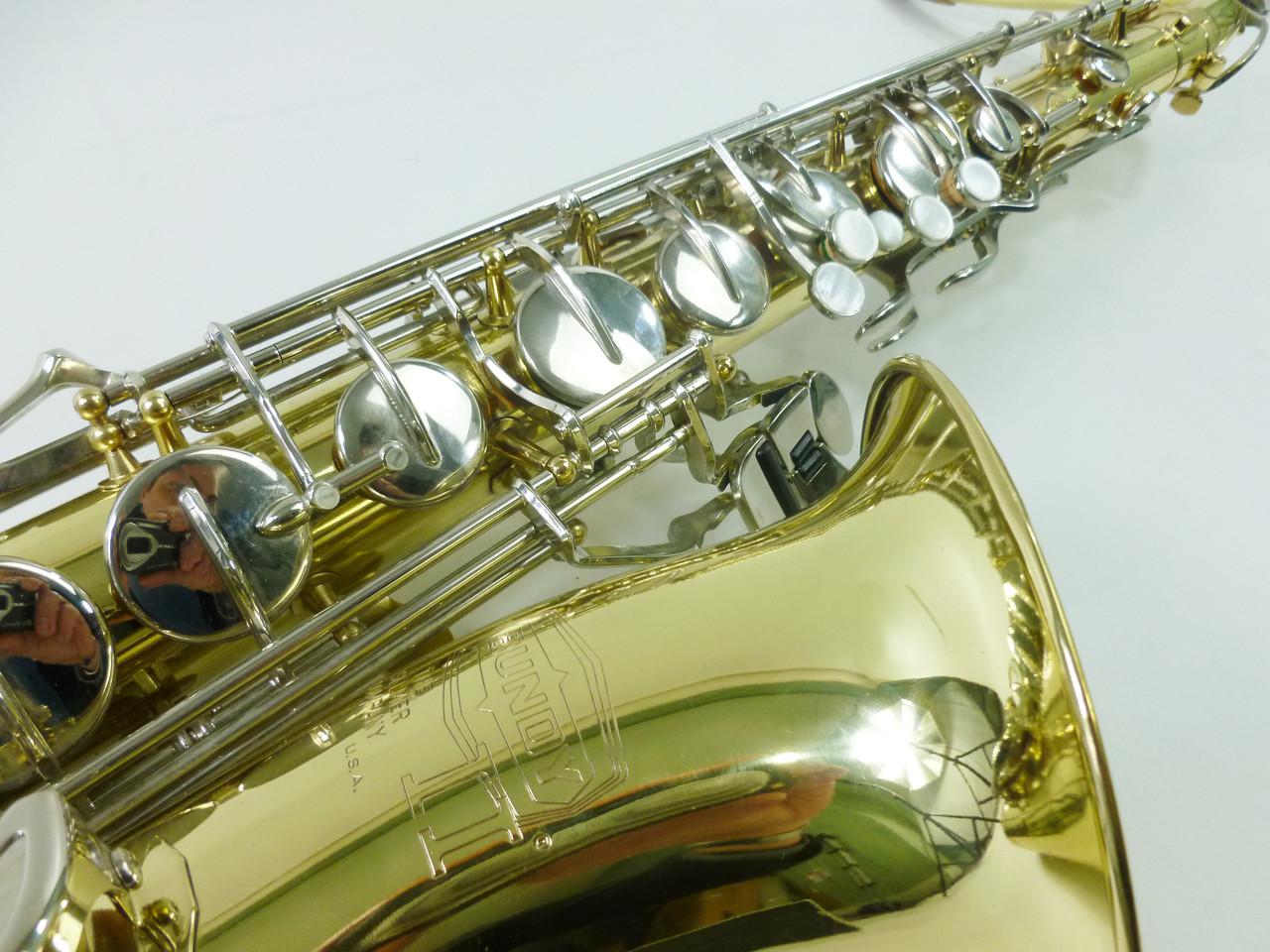 Selmer Bundy II Tenor Saxophone - Refurbished 5