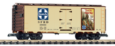 Piko Santa Fe Travel The Chief Way Steel Reefer 38886