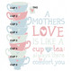 'A Mother's Love' Gift Print - personalisation options