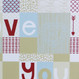 Personalised Patchwork Love Print - Initials