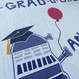 Personalised Dr Who Dalek Graduation Card - close up
