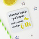 Fun Drinks Coaster -  When Life Hands You Lemons, Find Someone Who Has Gin - Wink Design