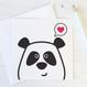 Wink Design - Panda Love - Cute Valentines Card