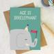 Wink Design - Animal Pun Card - Happy Birthday  - Birthday Card