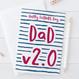 Wink Design Dad v2.0 fathers day card