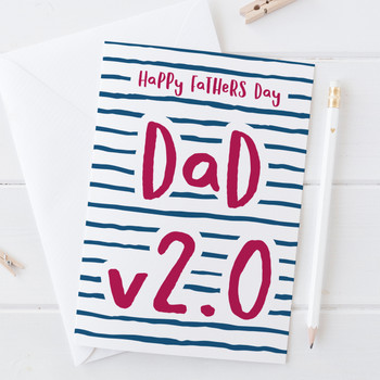 Wink Design Dad v2.0 fathers day card