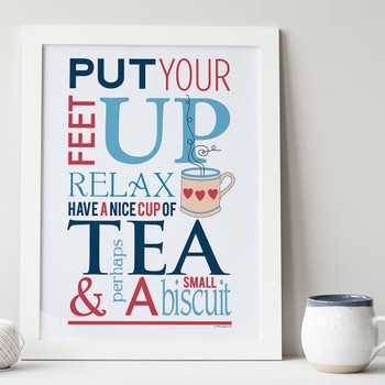 Tea and Biscuit Print