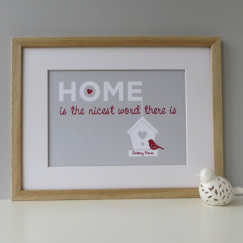 Home is the nicest word there is - Red