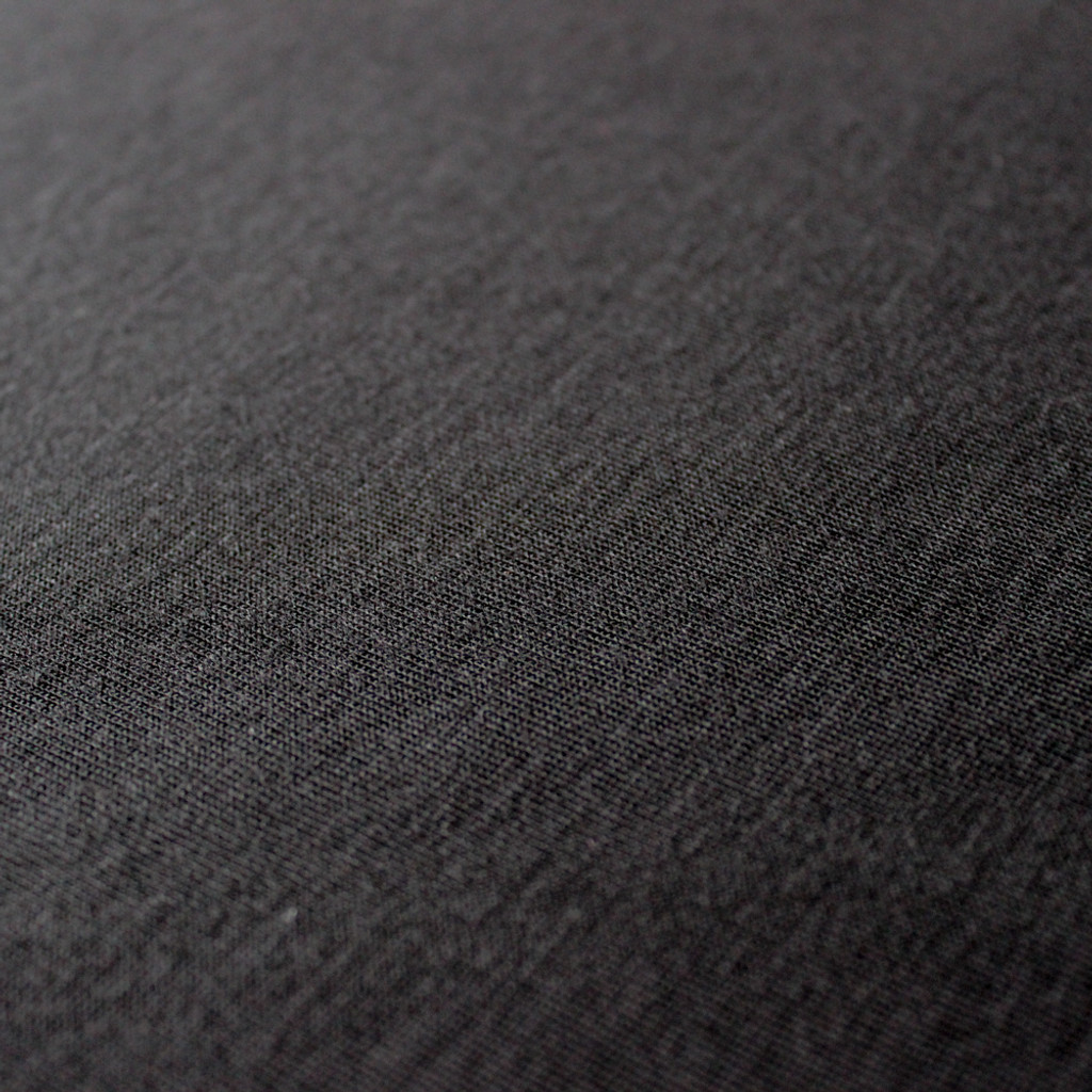 Tencel T-Shirt Knit - Black | Blackbird Fabrics