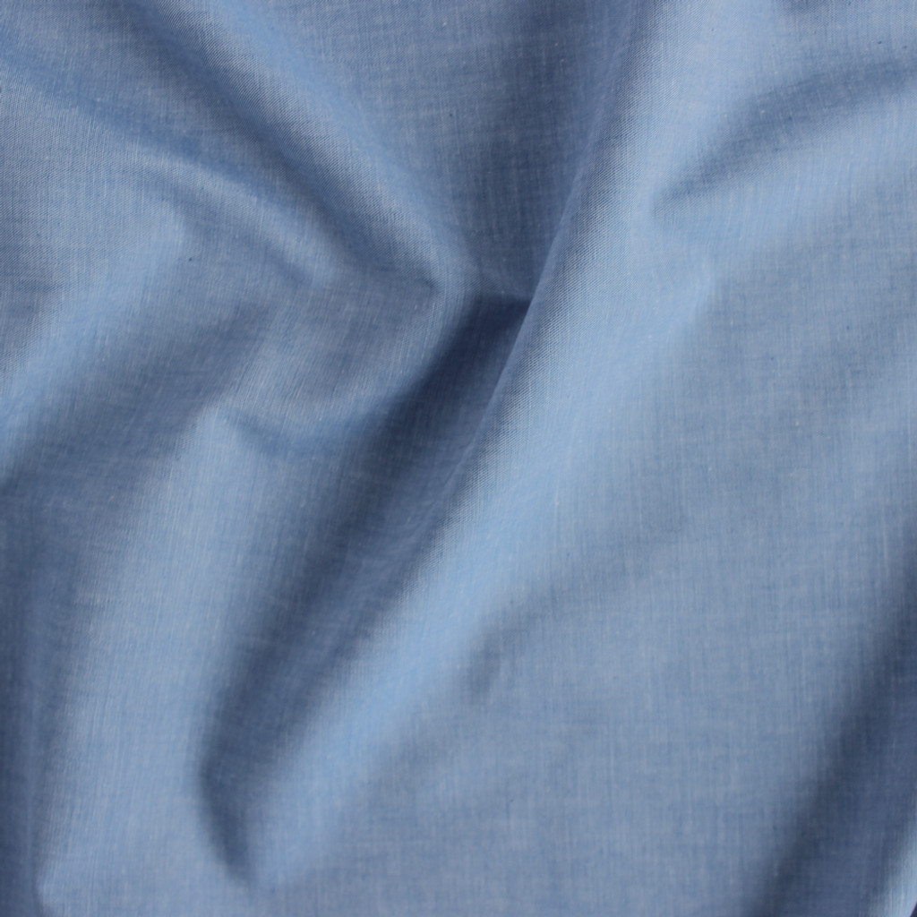 Japanese Cotton Chambray - Blue | Blackbird Fabrics