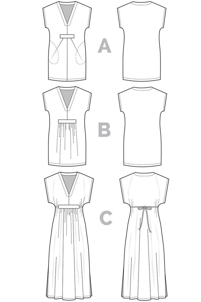 Charlie Caftan by Closet Case Patterns | Blackbird Fabrics