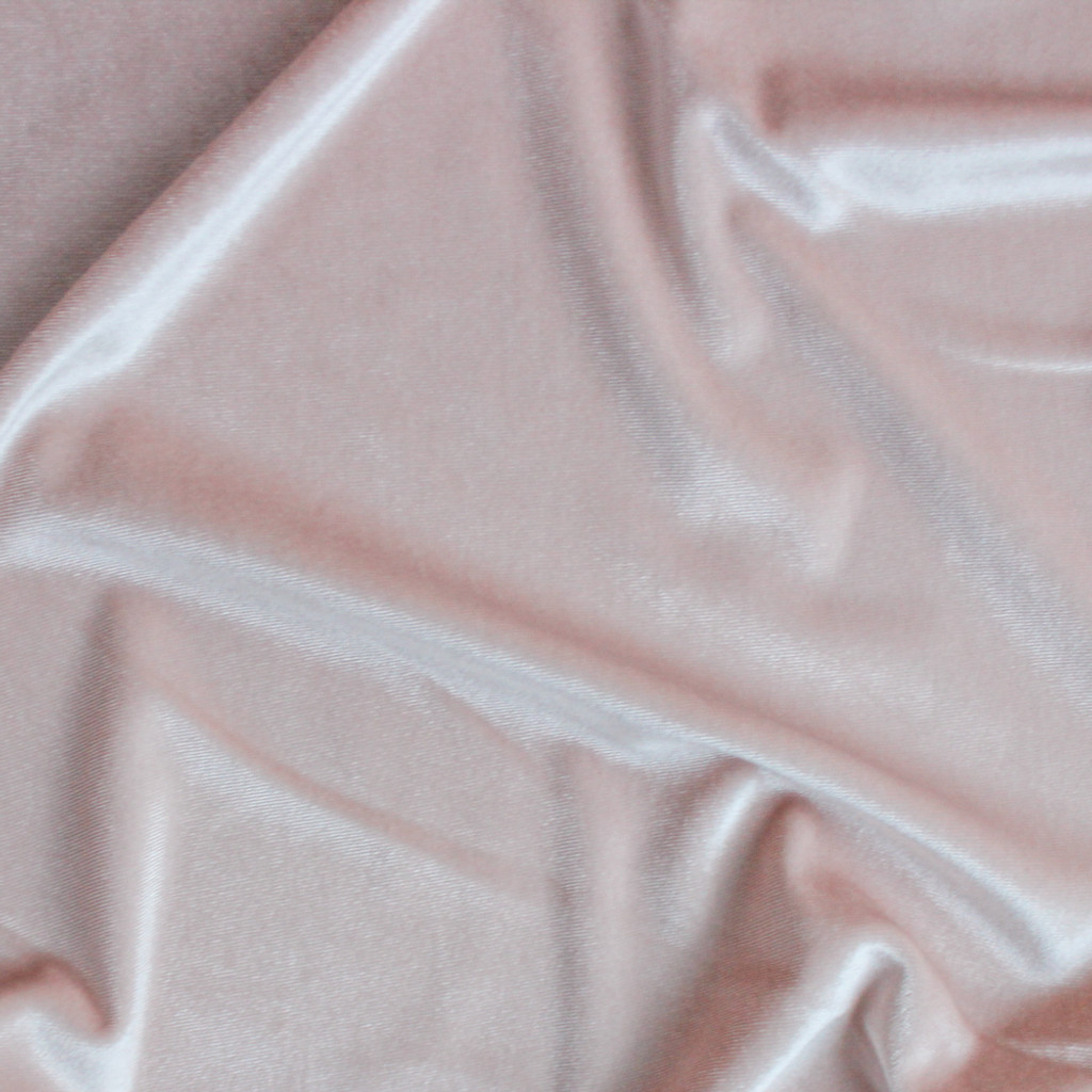 Stretch Velvet II - Blush Pink | Blackbird Fabrics