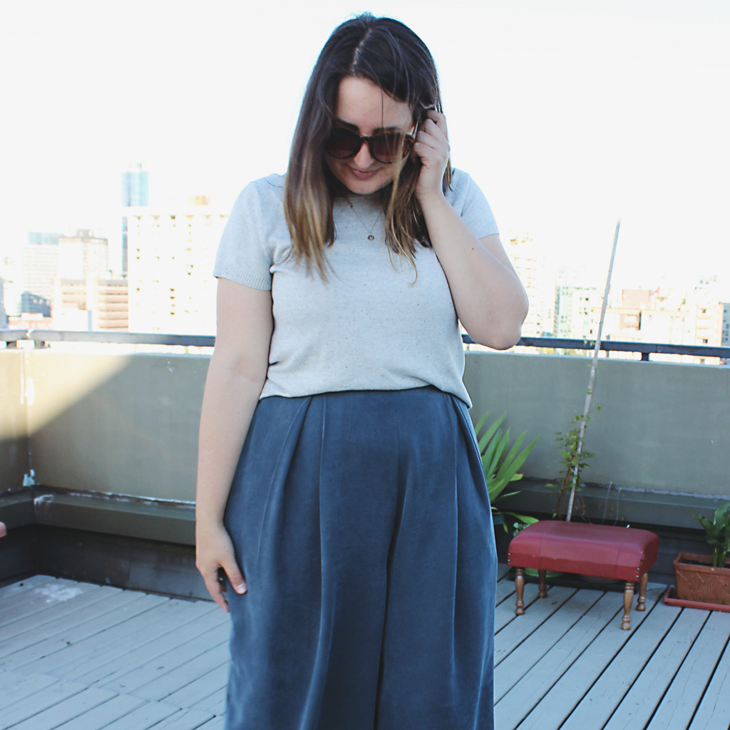 Winslow Culottes in Tencel Twill