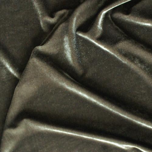Stretch Velvet II - Olive   Blackbird Fabrics
