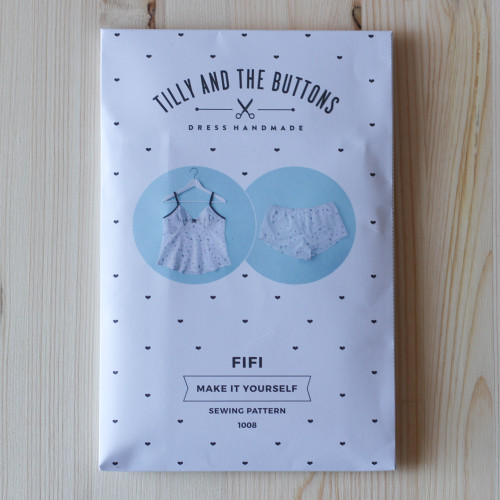 Fifi Pyjamas by Tilly and the Buttons | Blackbird Fabrics