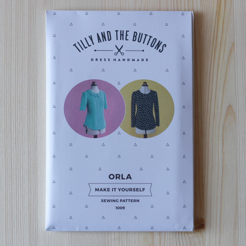 Orla Shift Top by Tilly and the Buttons | Blackbird Fabrics